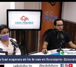 JORNAL DA 100.3 - Rádio Folha - 100.3 FM