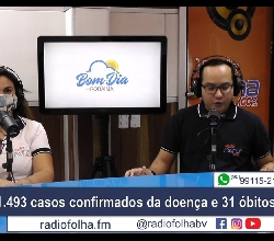 BOM DIA RORAIMA - Rádio Folha - 100.3 FM